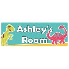 Dinosaur Door Sign