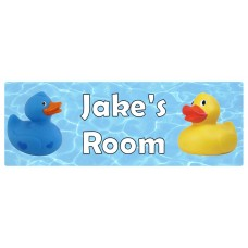 Duck Door Sign