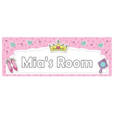 Girls Room Door Sign