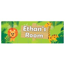 Jungle Door Sign
