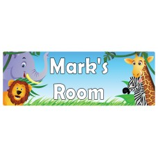 Safari Door Sign