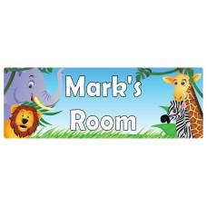 Safari Door Sign