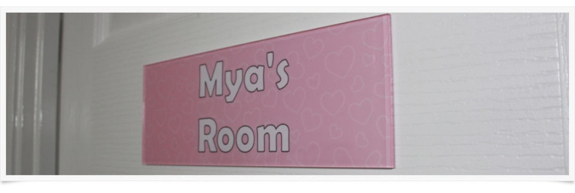 Swirls Door Sign