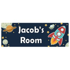 Space Door Sign